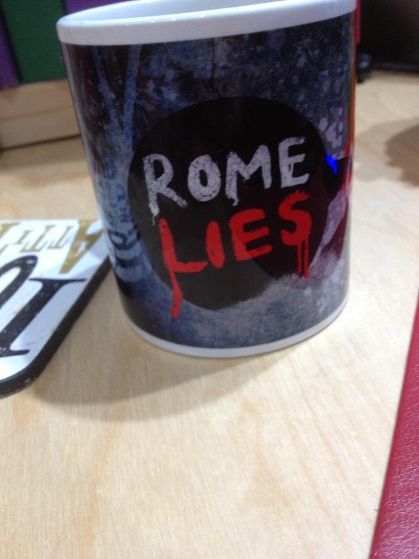 ROME LIES 'JCS' Mug