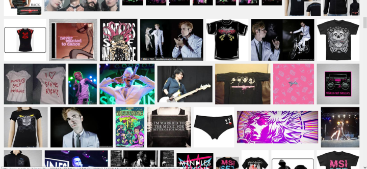 'Mindless Self Indulgence merch 2013'