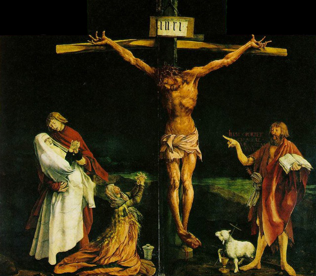 The Isenheim Altarpiece by Matthias Grunewald, found