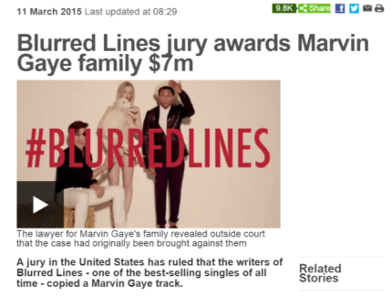 Blurred Lines Verdict bbc.co.uk