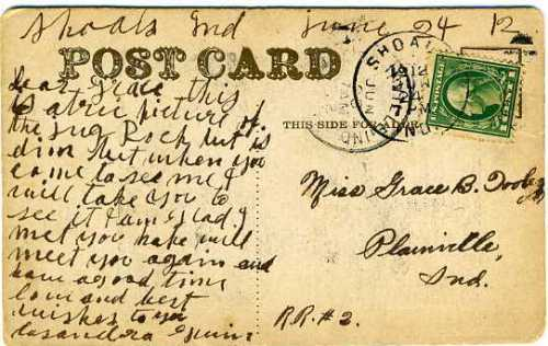 Vintage Postcard from scottakyle.wordpress.com