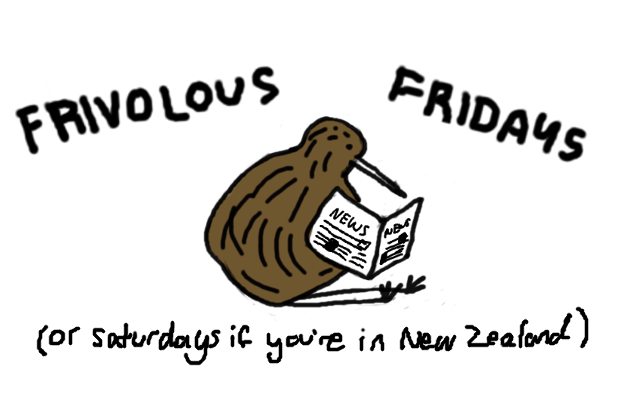 Frivolous Fridays from anitpodeancrossing.com