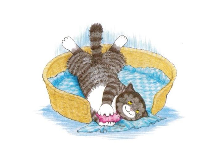 Mog the cat by Judith Kerr.