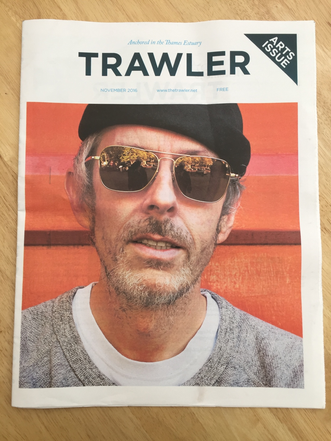 Trawler magazine winter 2016 Southend on Sea Francesca Burke