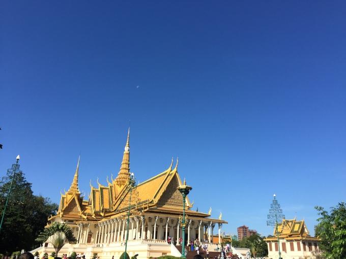 Grand Palace Phnom Pehn, Cambodia