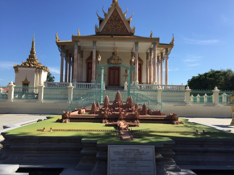 Grand Palace Phnom Penh, Cambodia