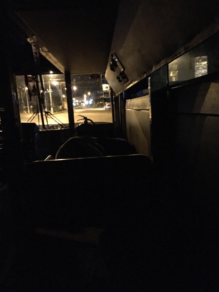 Night Bus Siem Reap to Phnom Pehn, Cambodia