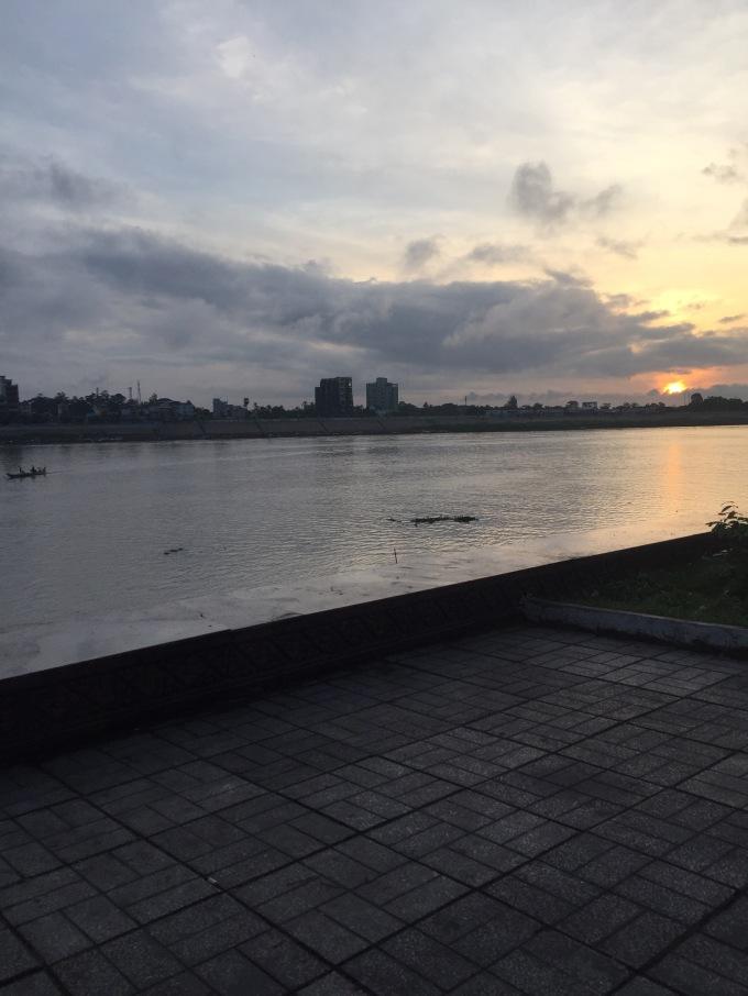 Phnom Penh Waterfront, Cambodia