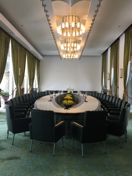 The conference room