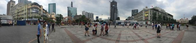 Ho Chi Minh City city centre, Vietnam