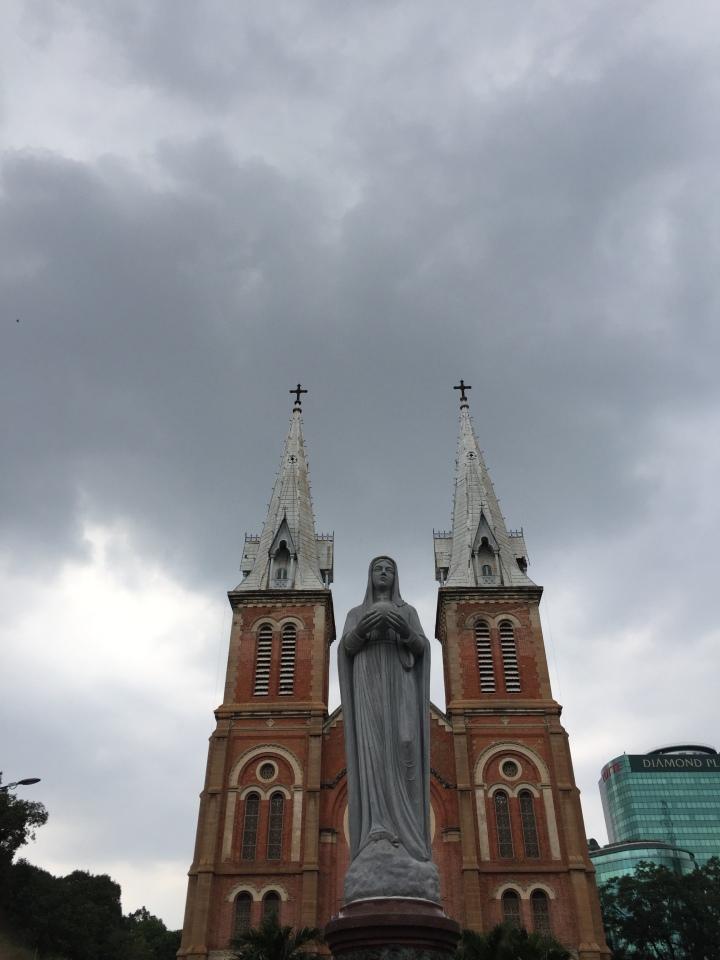 Notre-Dame Cathedral Basilica of Saigon, Ho Chi Minh City, Vietnam