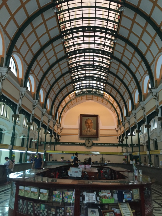 Saigon Central Post Office, Ho Chi Minh City, Vietnam