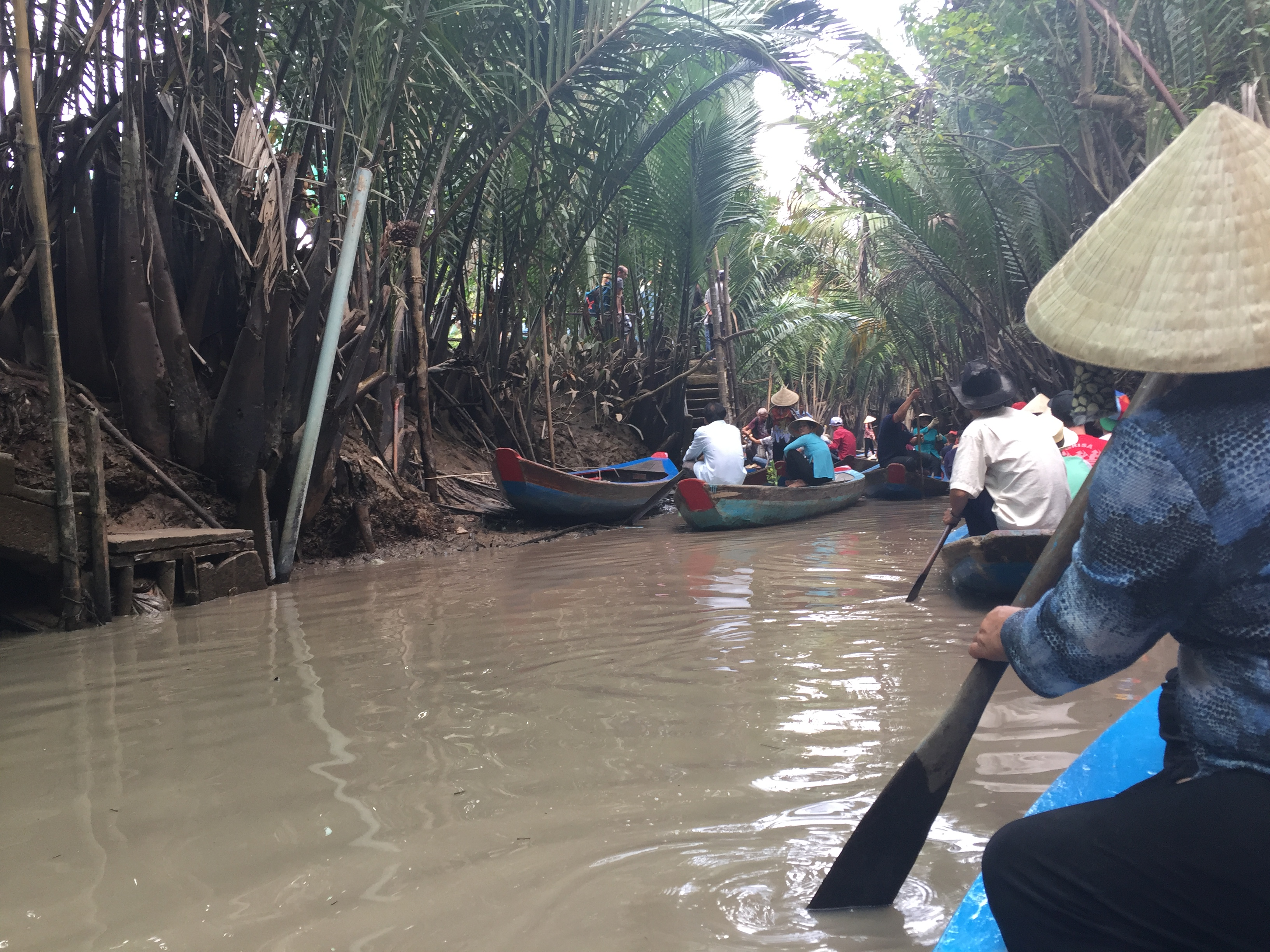 Riverboat on the Mekong Delta, Vietnam