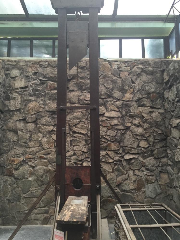 Guillotine, Ho Chi Minh City War Remnants Museum, Vietnam