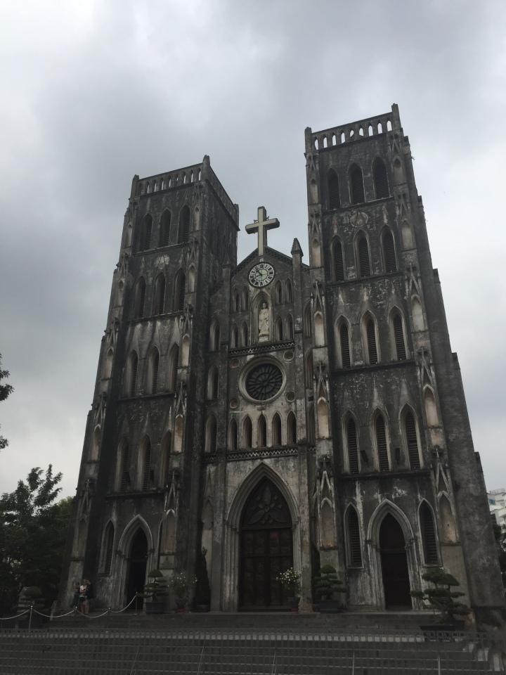 St Joseph's Cathedral, Hanoi, Vietnam