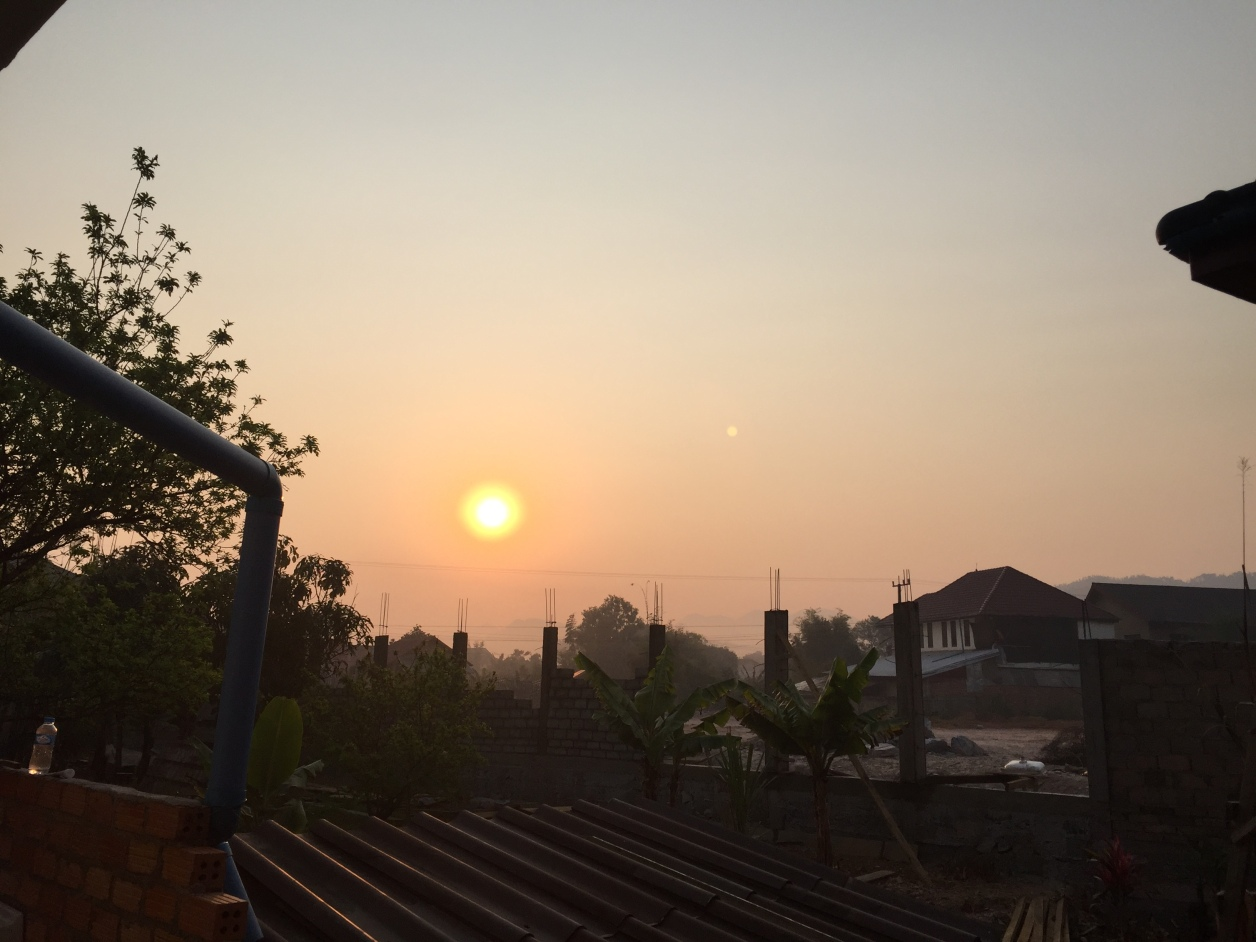 Sunrise Over Phonsavan Laos.JPG