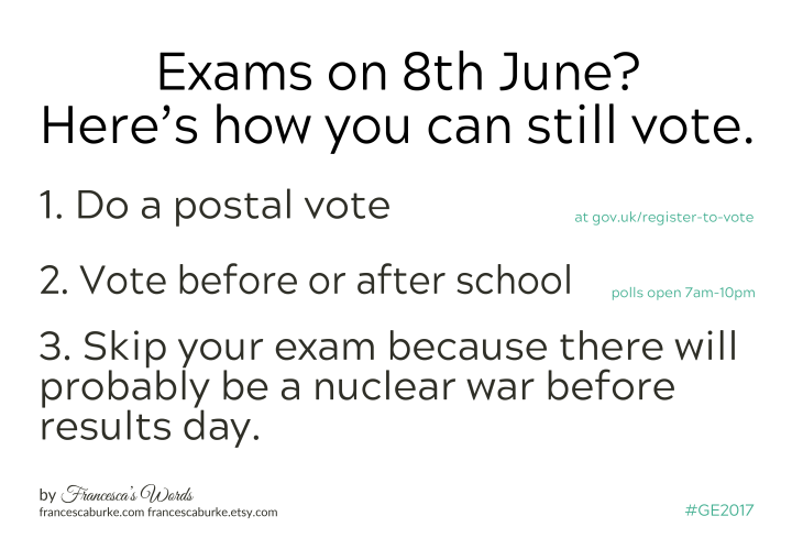 Students' Guide to Voting General Election 2017