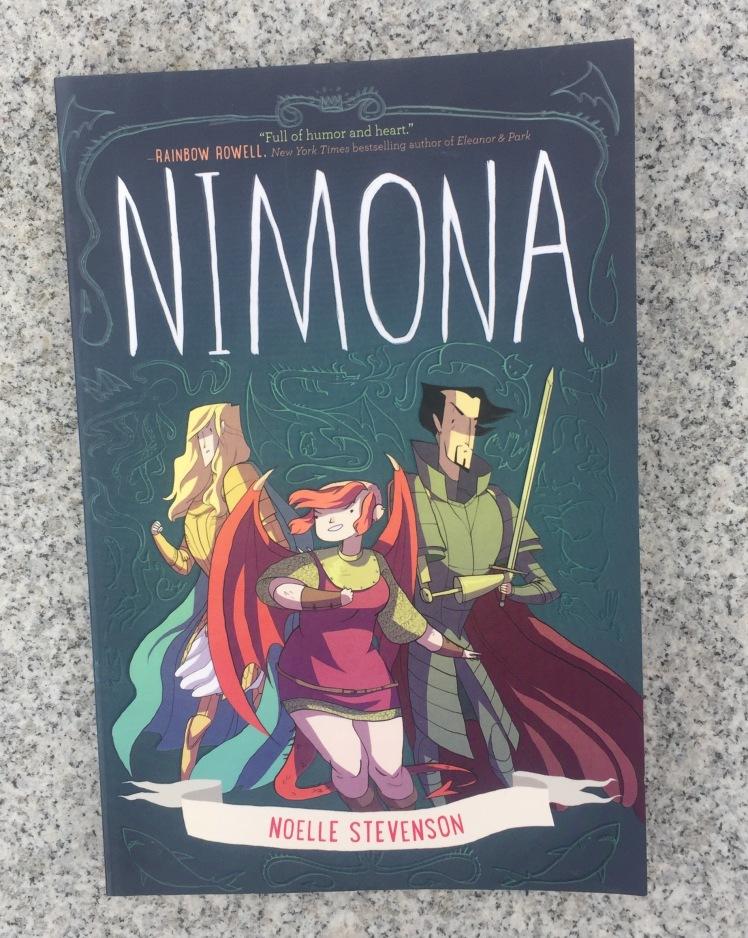 Nimona graphic novel by Noelle Stevenson