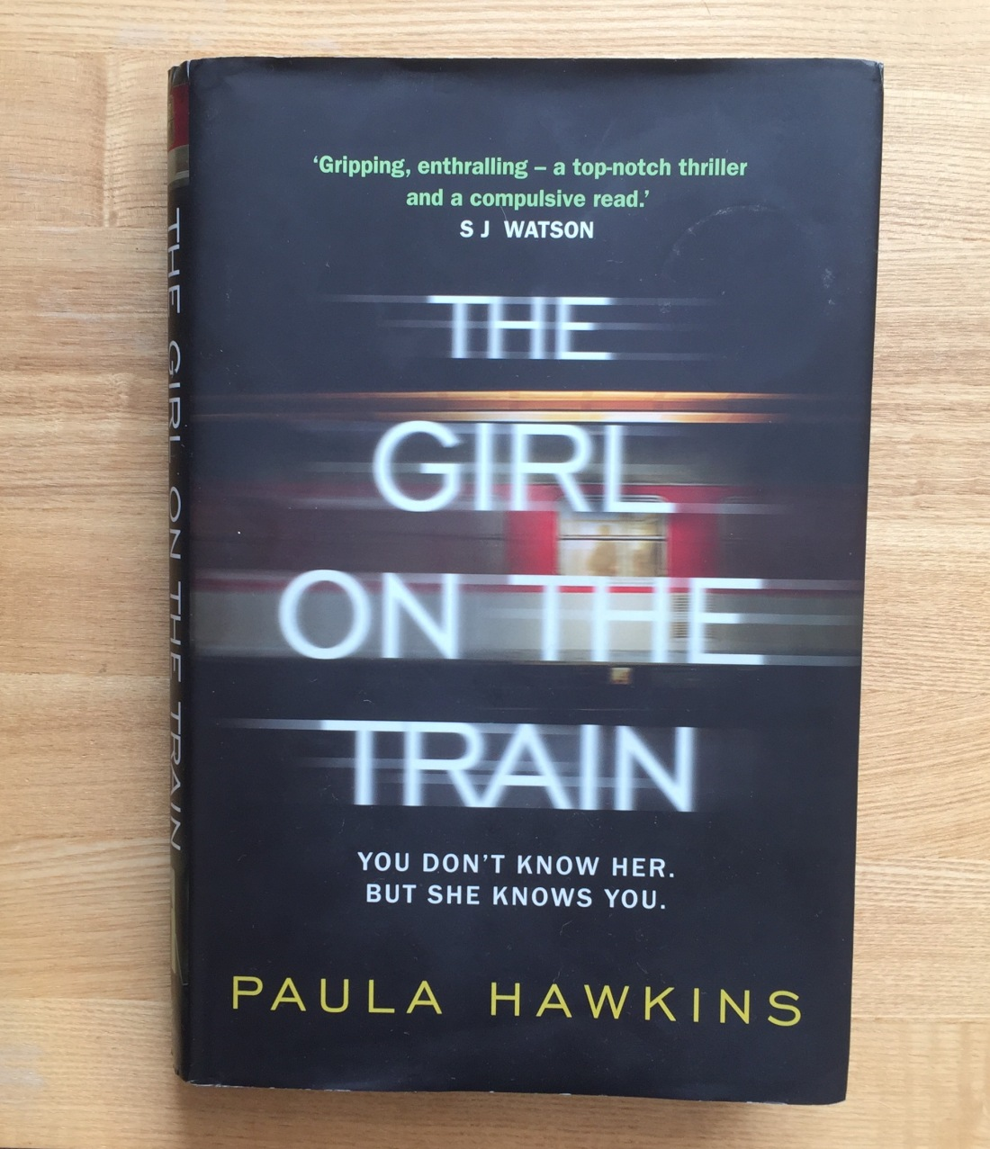 The Girl on the Train Paula Hawkins Review
