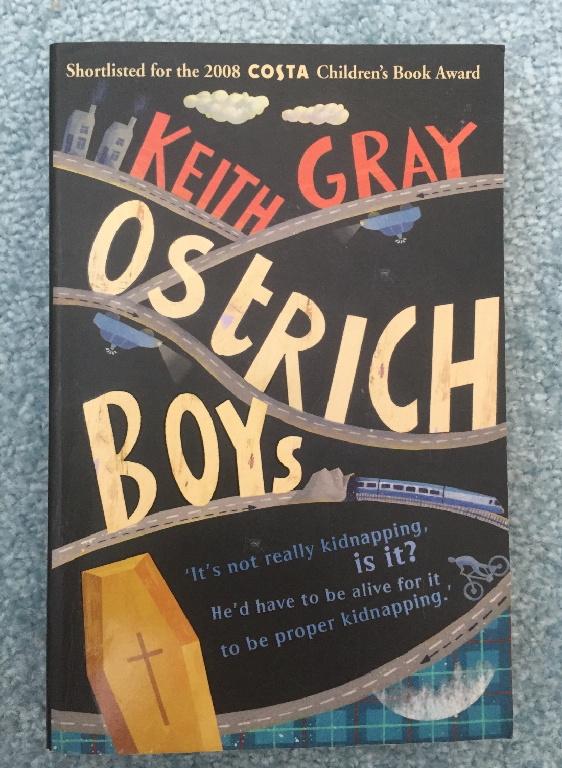 Ostrich Boys Keith Gray