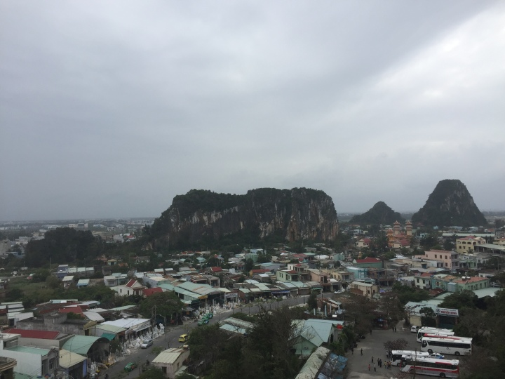 view from Marble Moutains, Vietnam