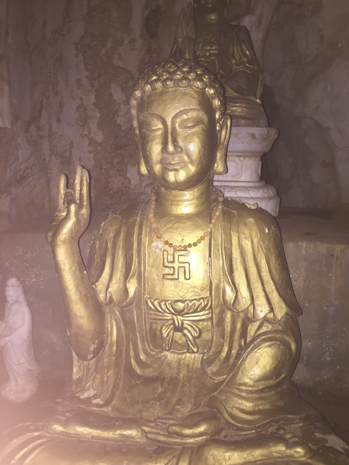 Buddha at Marble Mountains, Hue, Vietnam