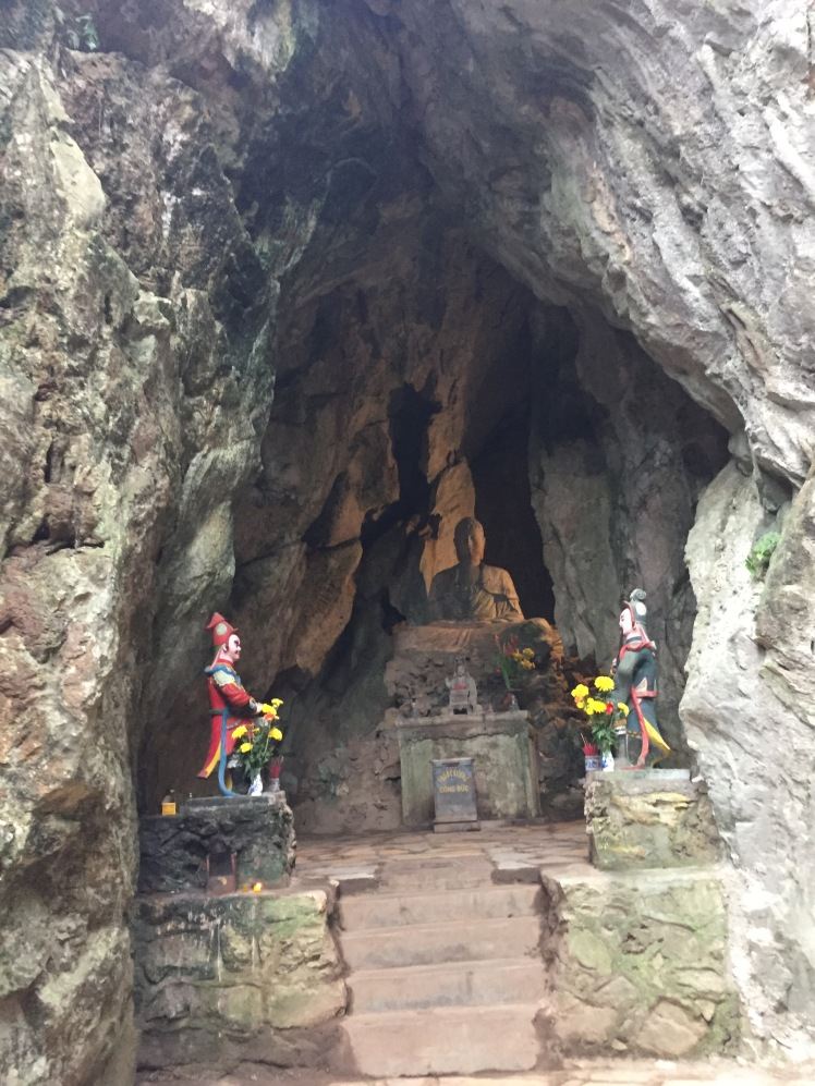 entrance to a cave, Marble Mountains, Hue, Vietnam
