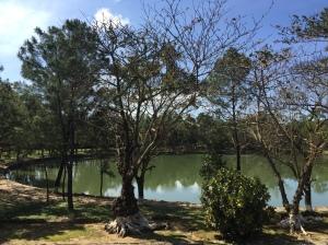 lake in Hue central Vietnam