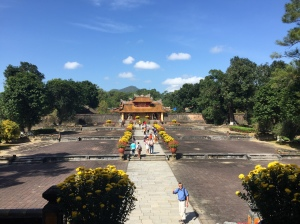 Tomb in Hue Central Vietnam