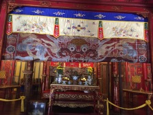 Inside of tomb Hue Vietnam