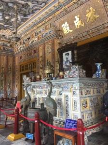 tomb of Khai Dinh, Hue, Vietnam