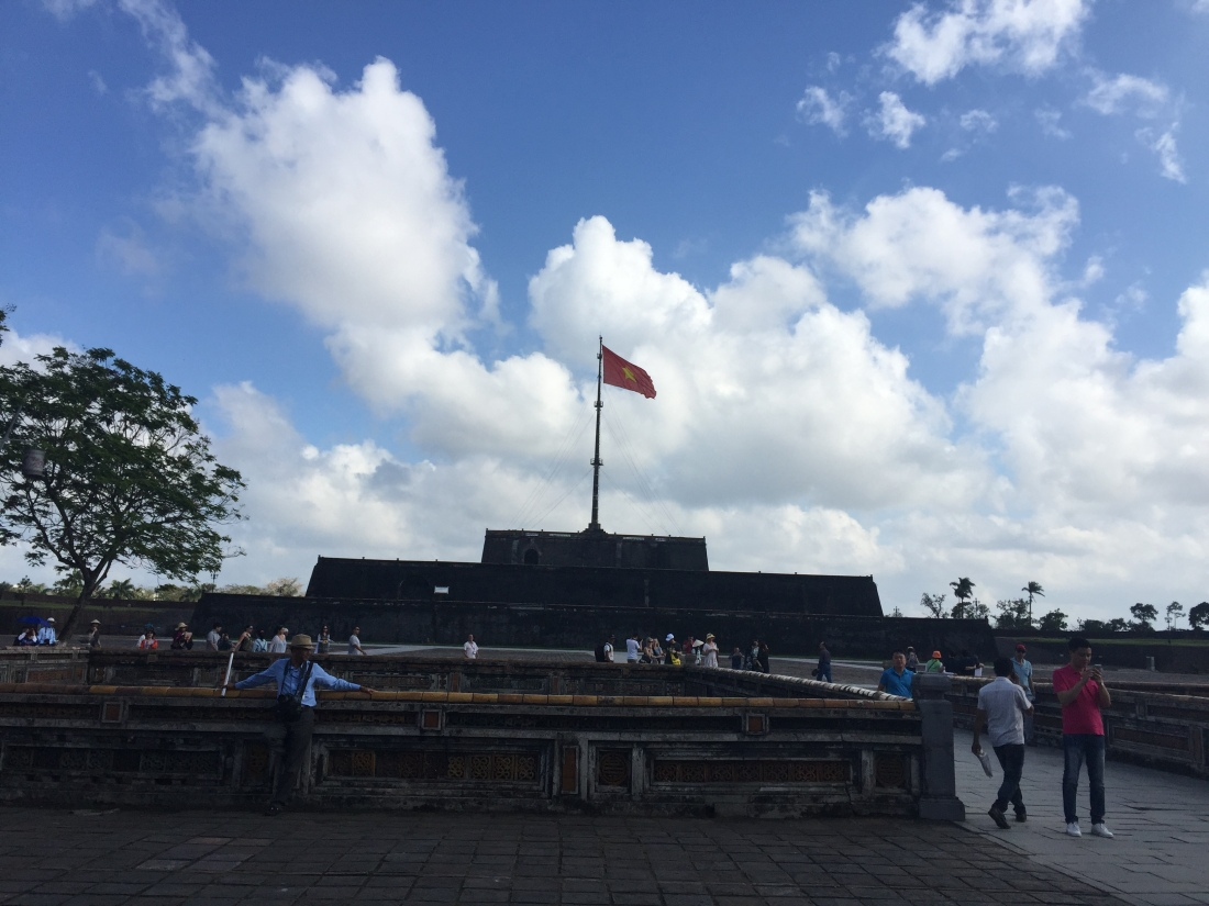 Imperial City in Hue Vietnam