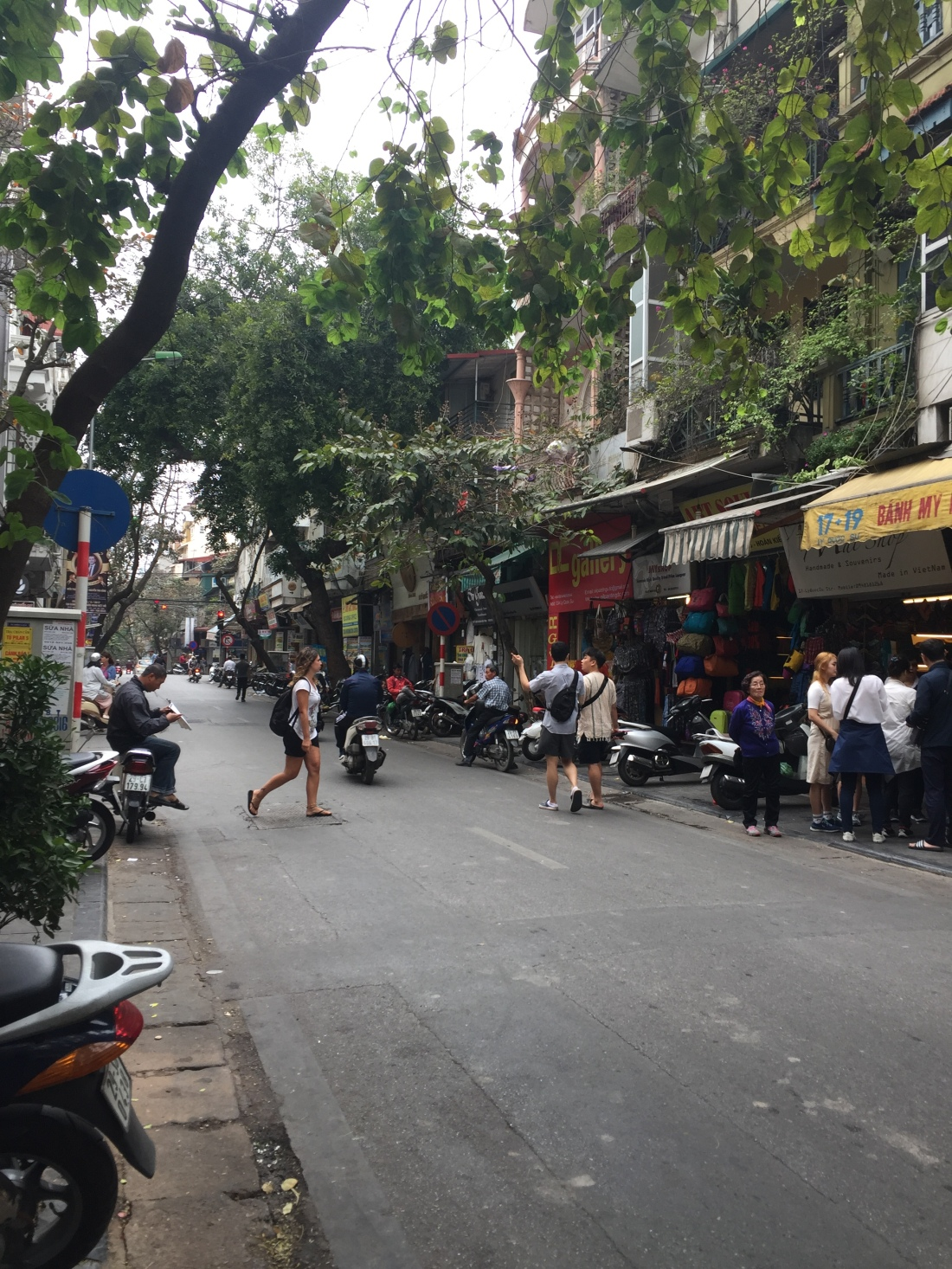 Hanoi Old Quarter in Vietnam