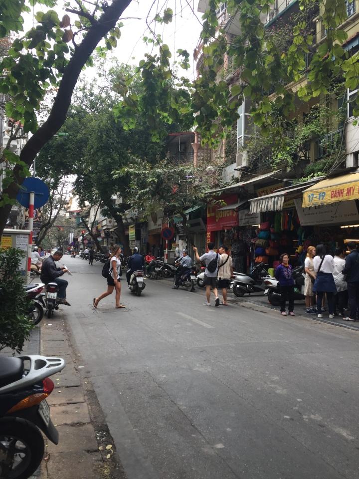 Hanoi Old Quarter in Vietnam