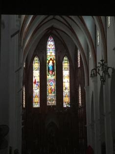 Inside St Joseph's Cathedral, Hanoi