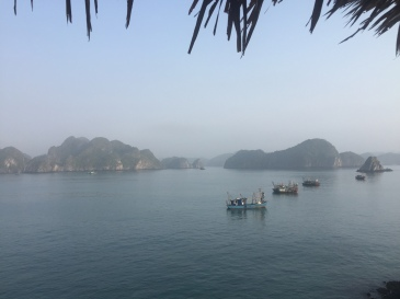 Ha Long Bay view Vietnam