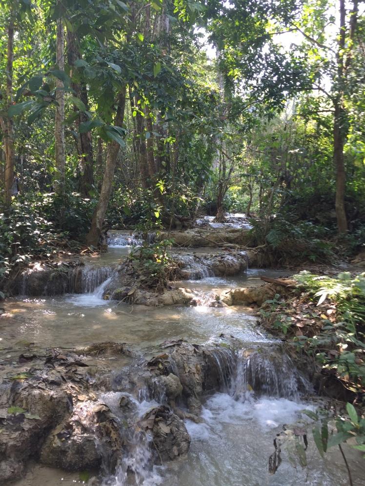 Kuang Si Waterfalls Luang Pranang Laos