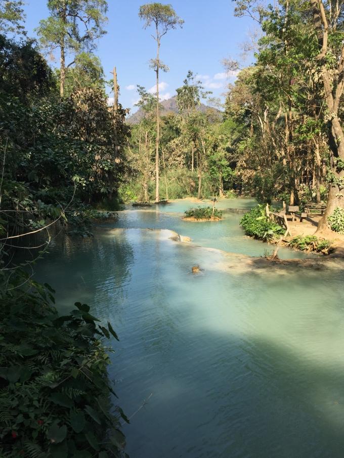 Kuang Si Falls Luang Pranang Laos
