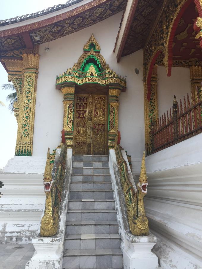 Side entrance to Luang Prabang wat