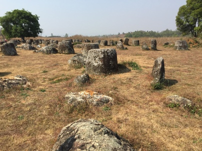 multiple jars at the Plain of Jars