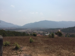 valley at the Plain of Jars Phonsavan