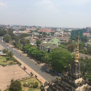 View from Patuxai