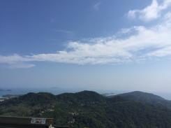 Ocean View from Big Buddha, Phuket Thailand