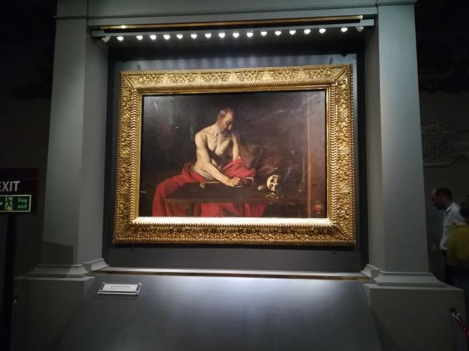 Caravaggio portrait in Valletta