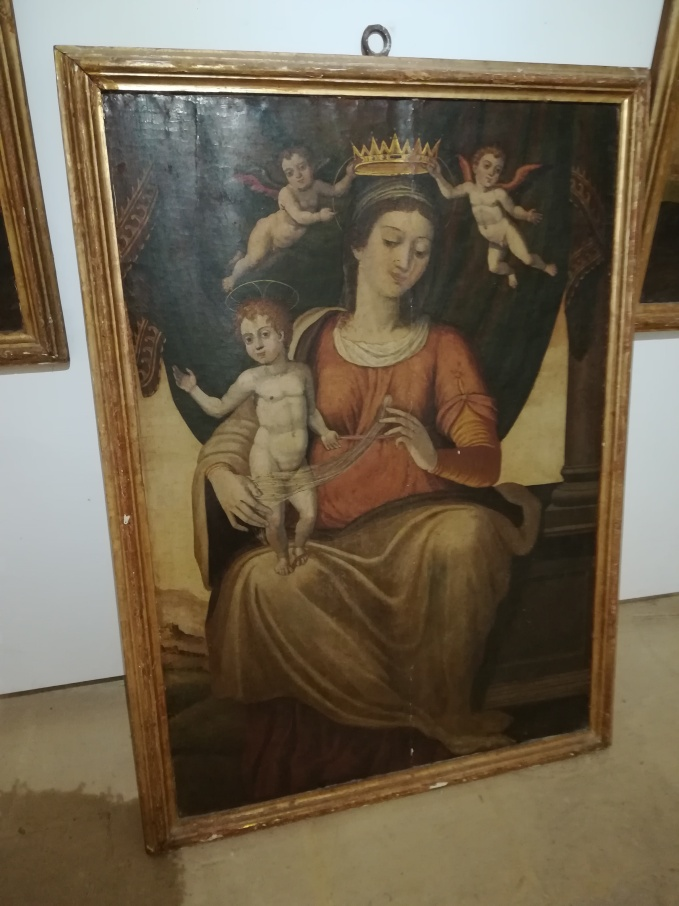 Jesus and Mary painting in Gozo