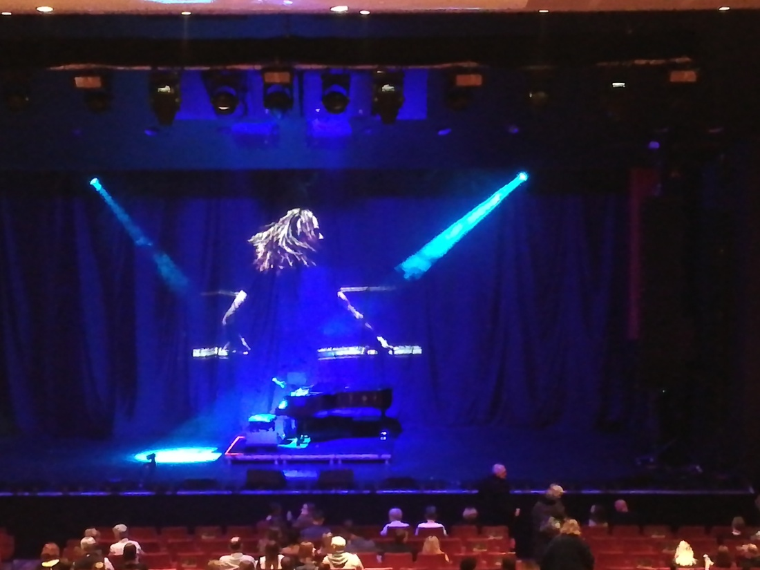empty stage Tim Minchin Cliffs Pavilion