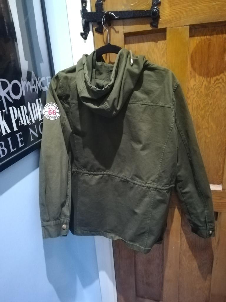 back of dark green New Look jacket