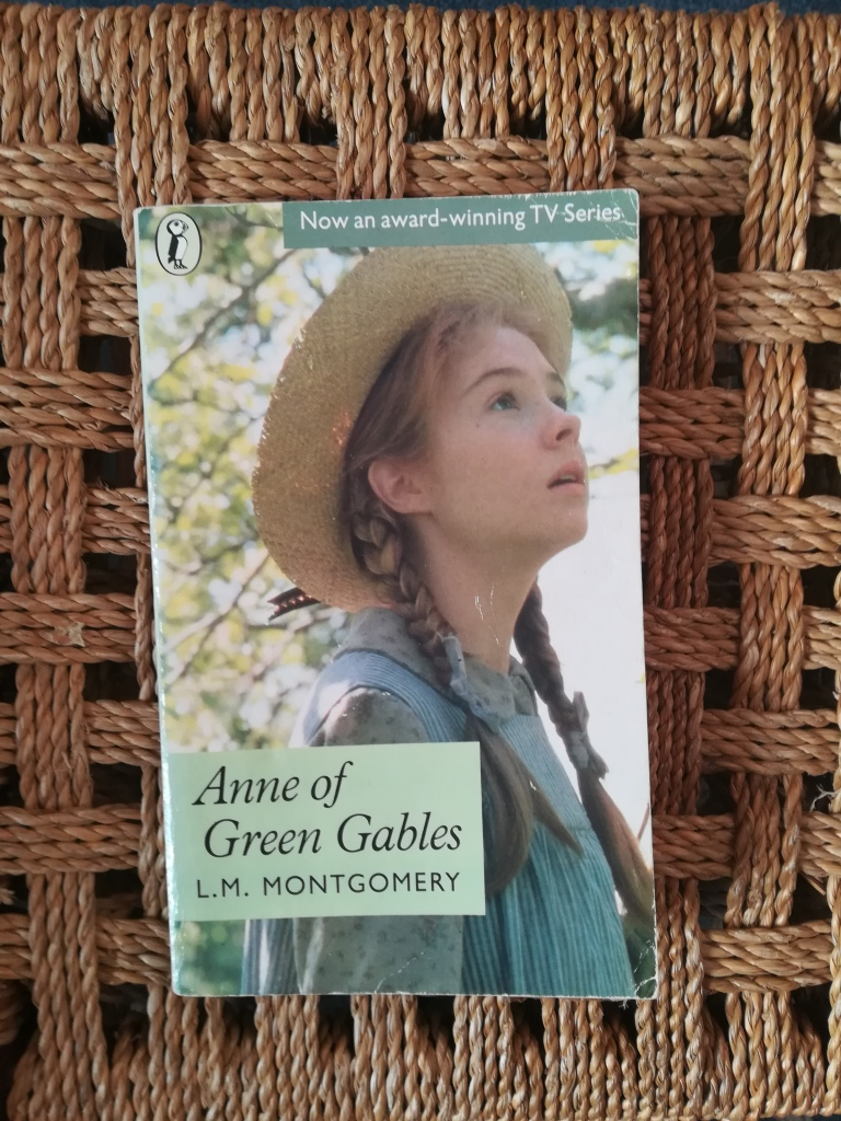 photograph of 'Anne of Green Gables' by LM Montgomery, 1980s TV tie in Penguin Edition